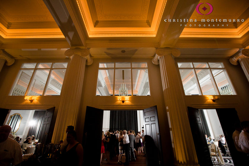 Kimpton Hotel Monaco Pittsburgh Wedding Photos Sheffield Ballroom Banquet Foyer Reception