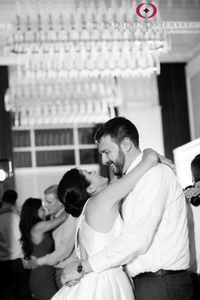 Kimpton Hotel Monaco Pittsburgh Wedding Photos Sheffield Ballroom Bride and Groom Dancing