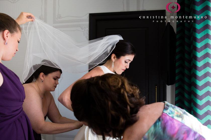 Kimpton Hotel Monaco Pittsburgh Wedding Photos Bride Getting Ready