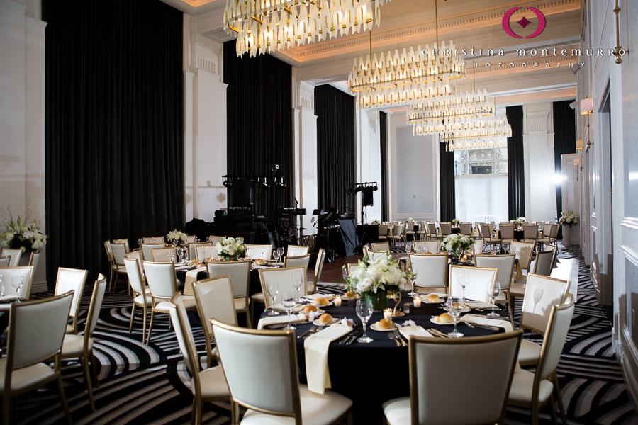 Hotel Monaco Pittsburgh Wedding Reception Sheffield Ballroom Wedding