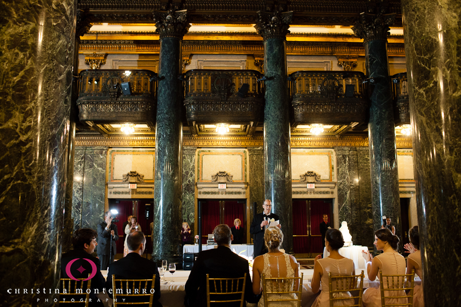 Pittsburgh Wedding Photographer Carnegie Museum Music Hall Foyer