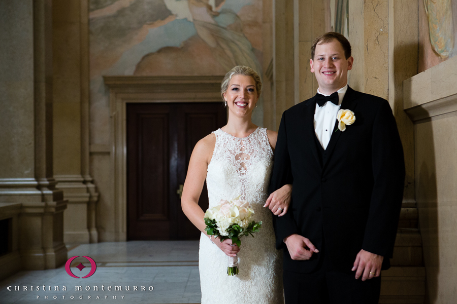 Pittsburgh Wedding Photographer Carnegie Museum Grand Staircase
