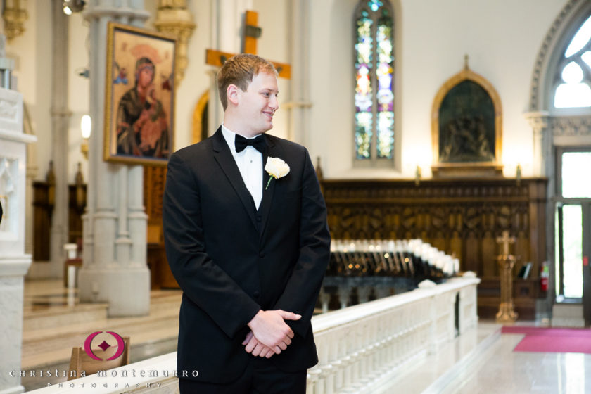 Pittsburgh Wedding Photographer St. Paul's Cathedral