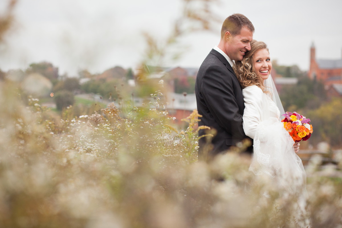 Pamela's Portfolio - Christina Montemurro Photography - bride and groom strip district
