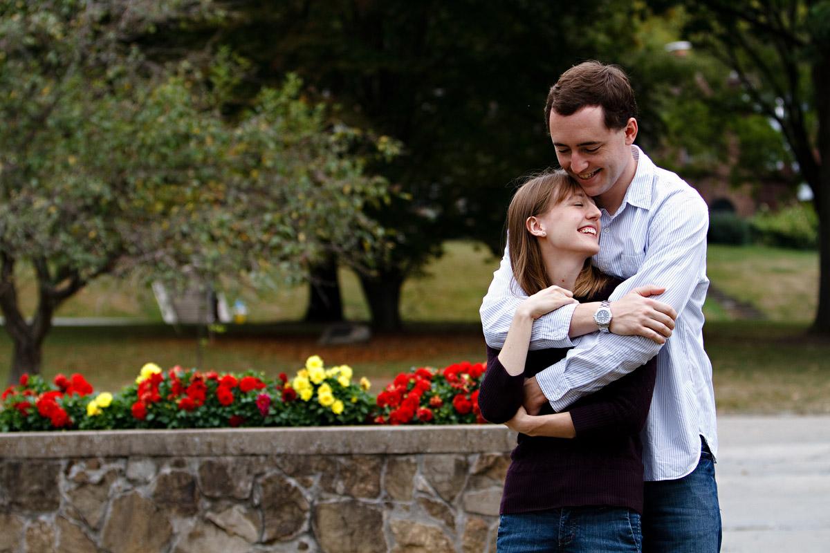 Christina Montemurro Engagement Portfolio - engaged couple