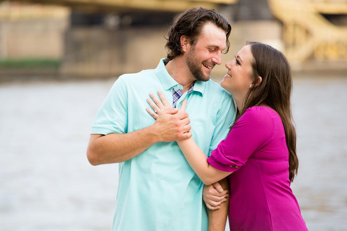 Christina Montemurro Engagement Portfolio - couple north shore