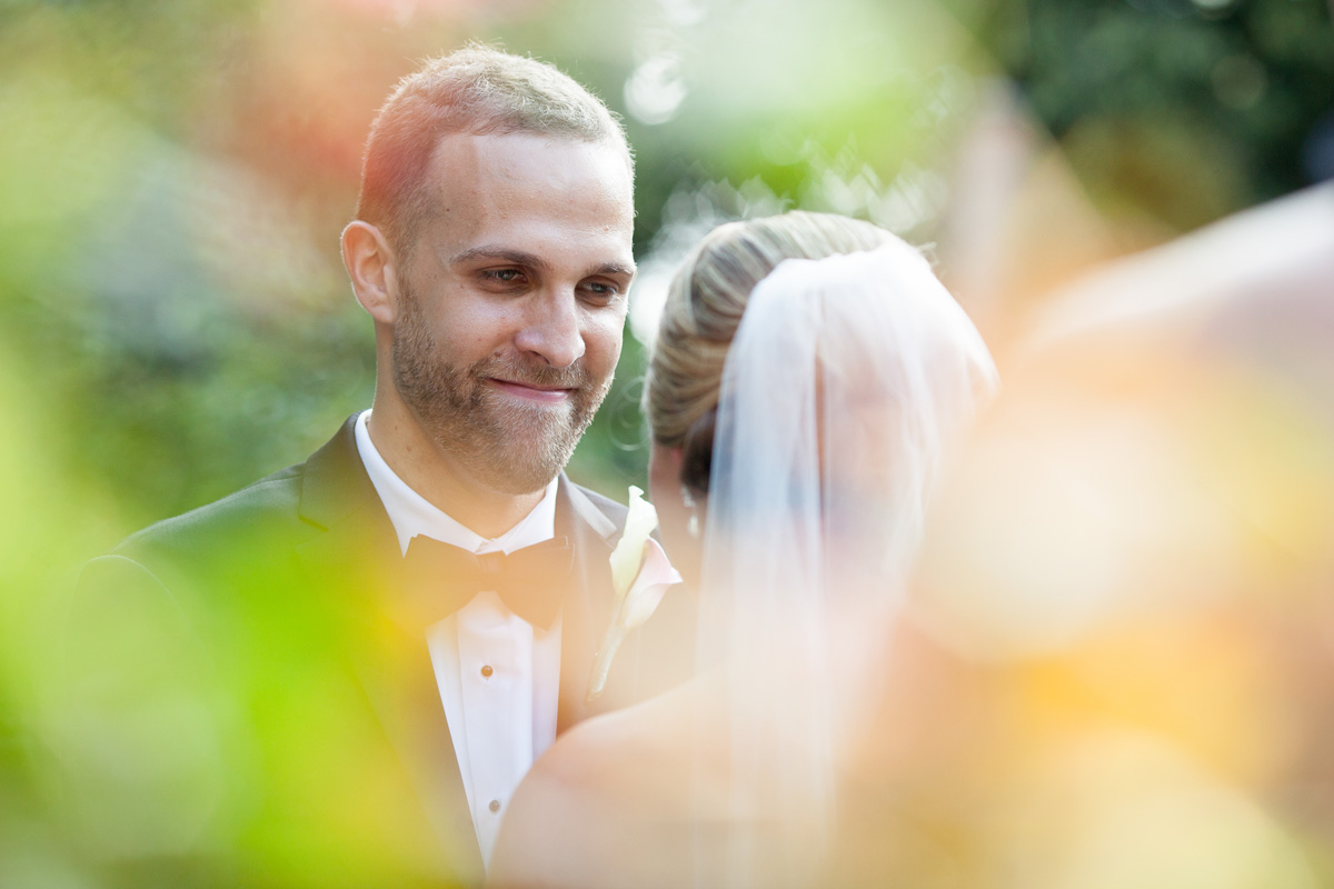 Pamela's Portfolio - Christina Montemurro Photography - bride and groom gazing into each other's eyes