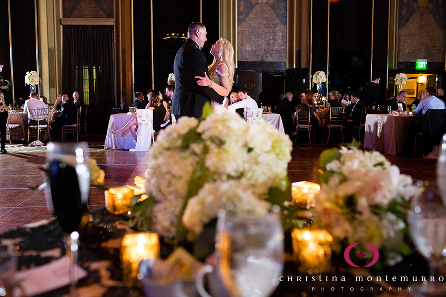 First Dance Urban Room Omni William Penn Hotel Pittsburgh