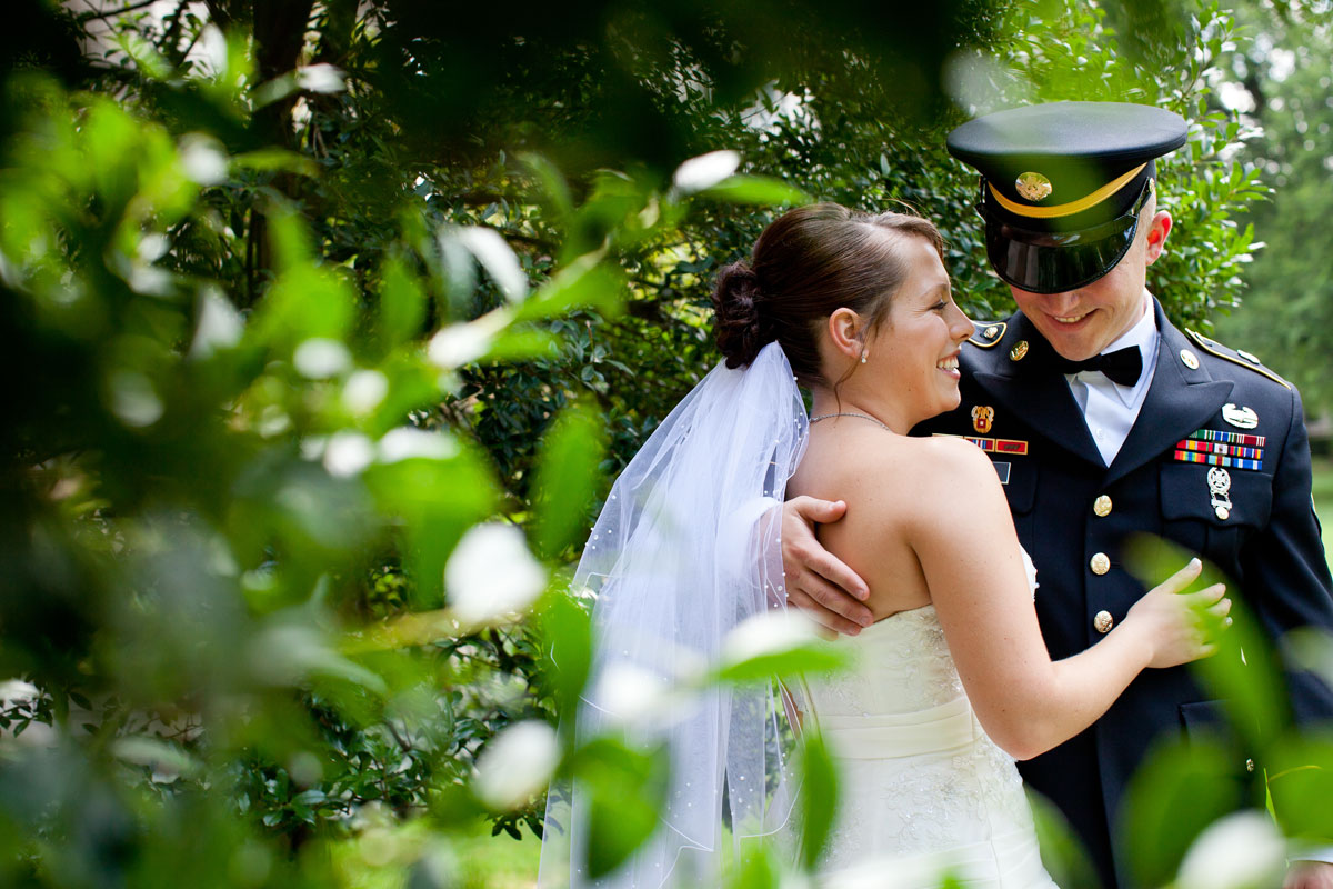 Pamela's Portfolio - Christina Montemurro Photography - bride and groom uniform