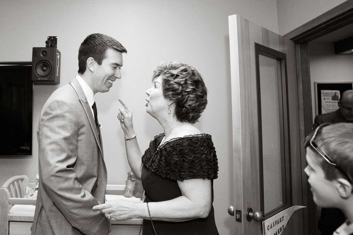 Pamela's Portfolio - Christina Montemurro Photography - groom and mother-in-law