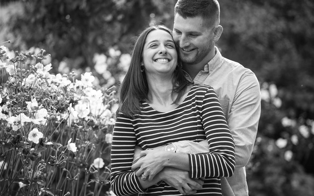 Katie & Derek's engagement session – Mellon Park