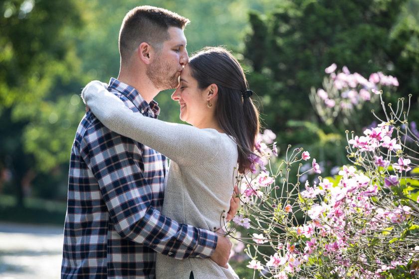 September engagement session in Mellon Park