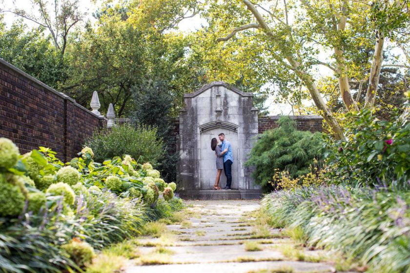 Mellon Park Engagement Photos