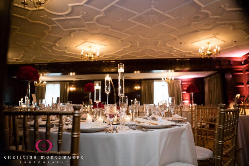 Omni William Penn Bob and Delores Hope Room Wedding Reception Allison McGeary