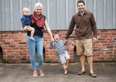 Laura, Matt, Oskar and August