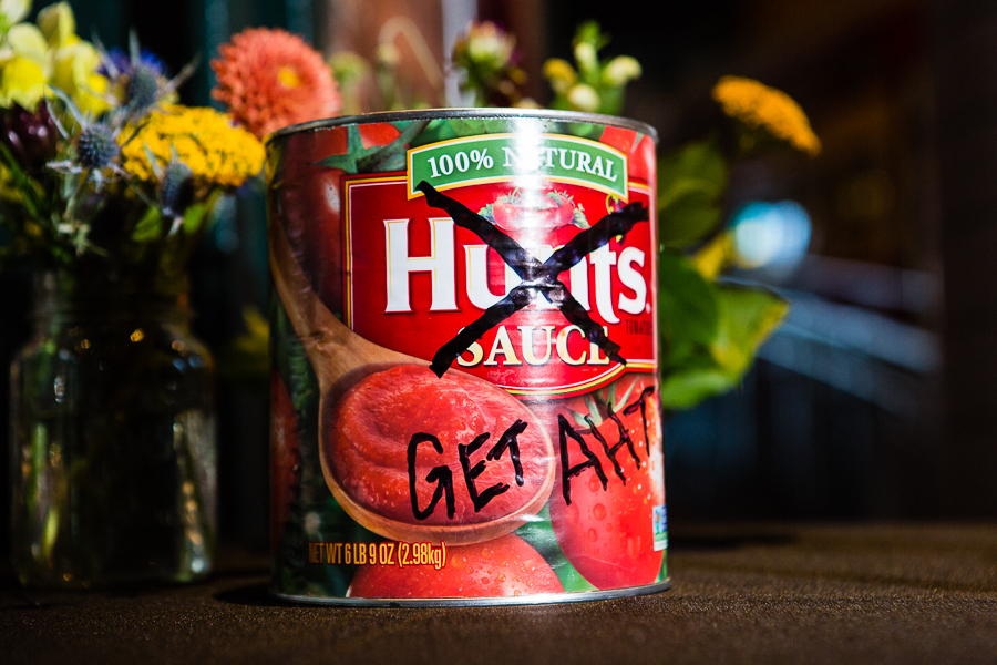 Hunt's Sauce Can Get Aht