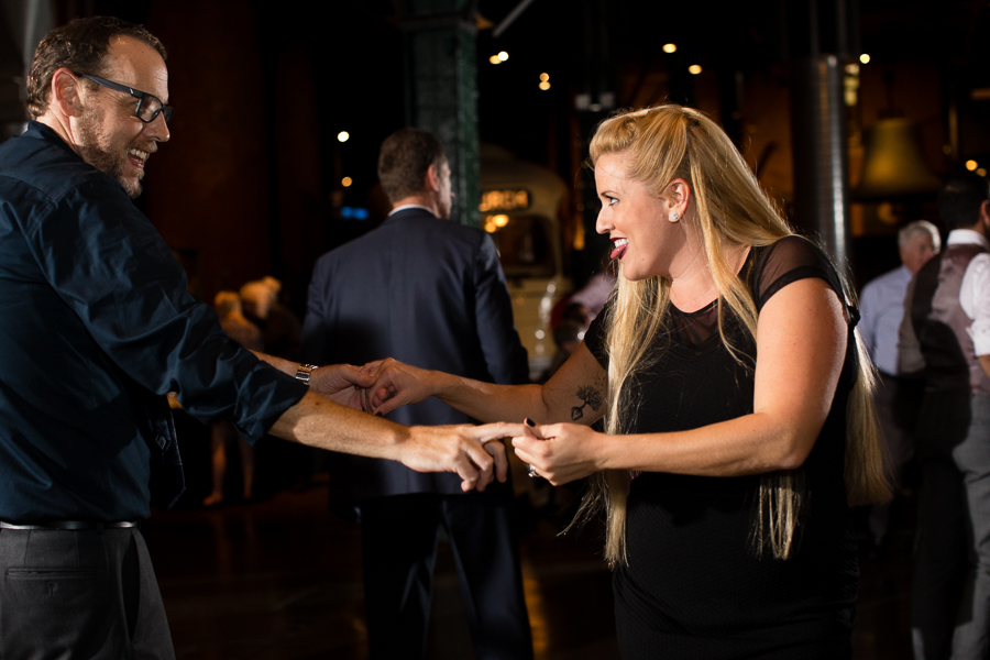 Guest Dancing at Heinz History Center Wedding