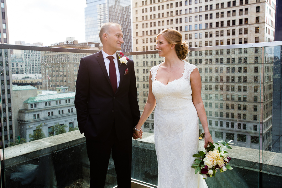 Kimpton Hotel Monaco Rooftop Wedding Photos