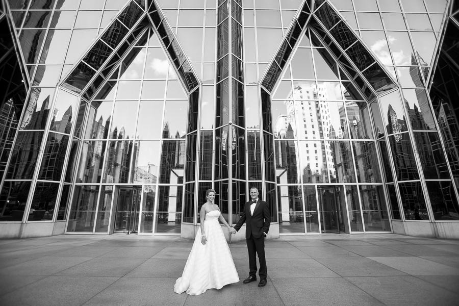 Missy & Tim's Wedding, Part 2: Celebration at PPG Winter Garden