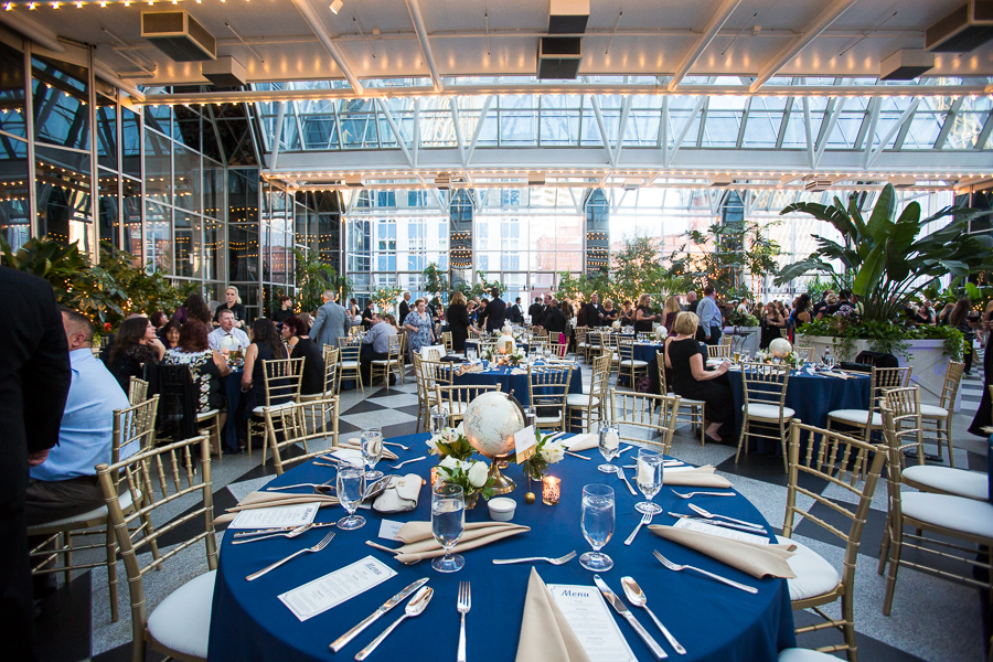 PPG Winter Garden Pittsburgh Wedding Reception