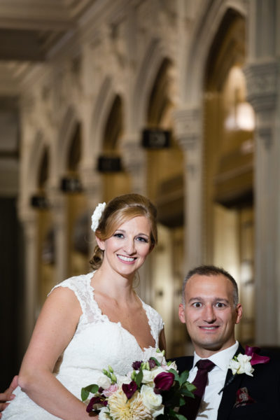 Beautiful Pittsburgh Union Trust Building Wedding Photos