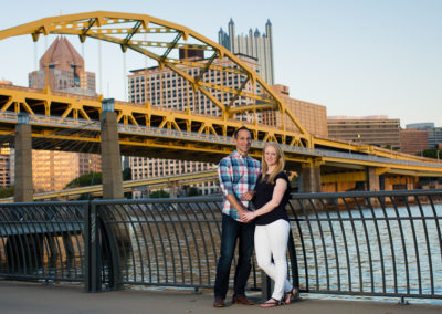 Cara and Justin's engagement session – North Shore