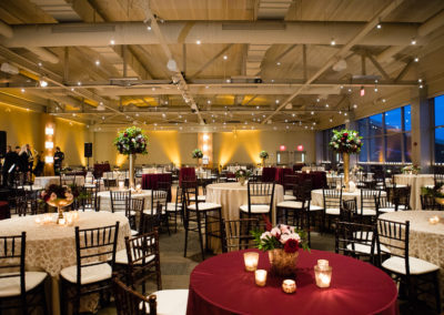 Cara and Justin's Heinz History Center Wedding Details