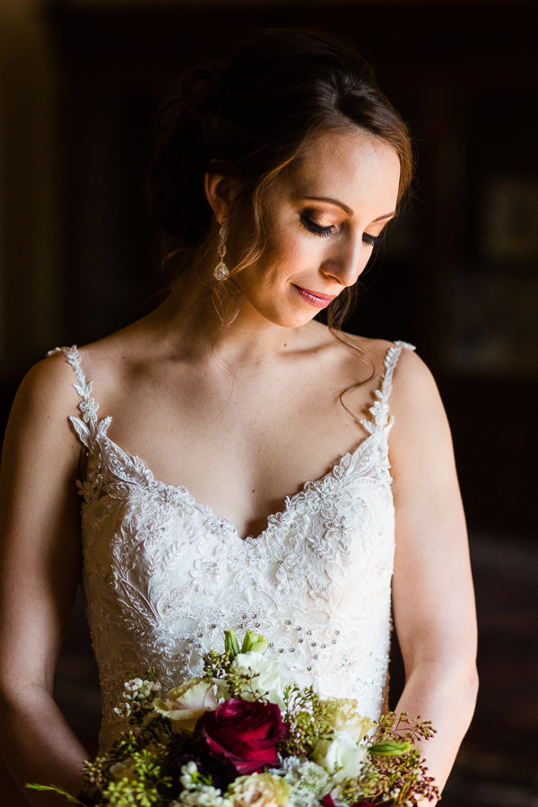 Beautiful Bridal Portrait at Seton Hill University