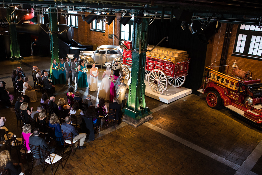 Same Sex Wedding in the Great Hall at the Heinz History Center