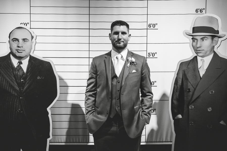 Groom mugshot at Heinz History Center Prohibition Exhibit