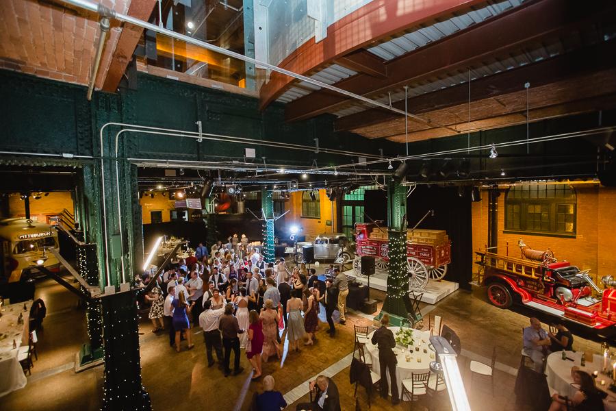 Heinz History Center Great Hall Wedding Reception