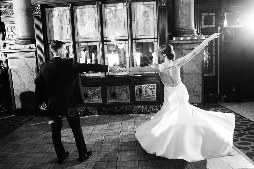 Dramatic First Dance at the Grand Concourse Restaurant