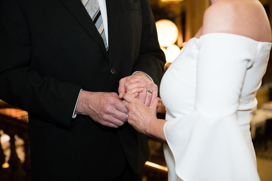 Grand Concourse Small Informal Weekday Wedding