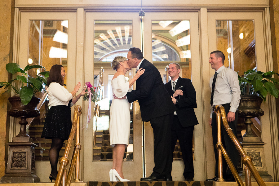Grand Concourse Small Informal Weekday Wedding Pittsburgh