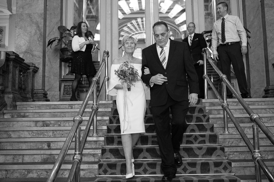 Grand Concourse Small Informal Weekday Wedding