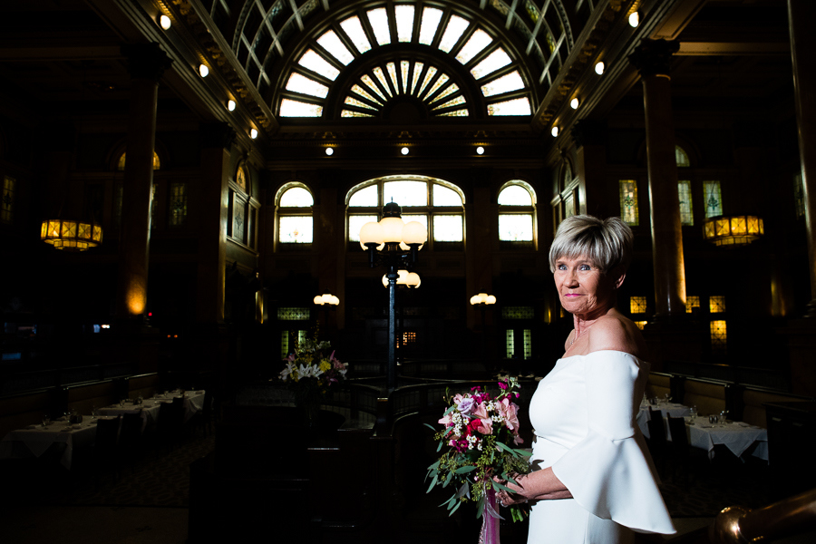 Classic Bridal Portrait at the Historic Grand Concourse Pittsburgh