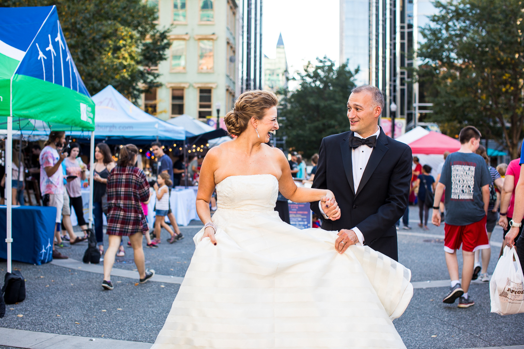 Market Square Pittsburgh Wedding Photos