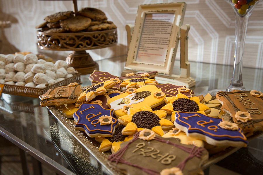Bella Christies cookies at Fairmont Hotel