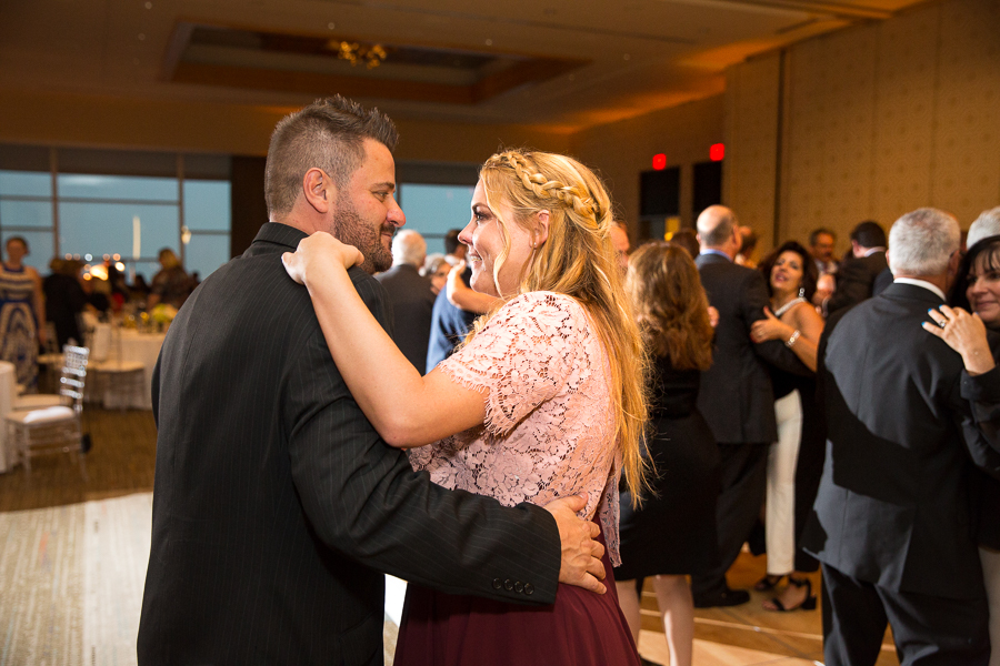Fairmont Pittsburgh Hotel Wedding Reception