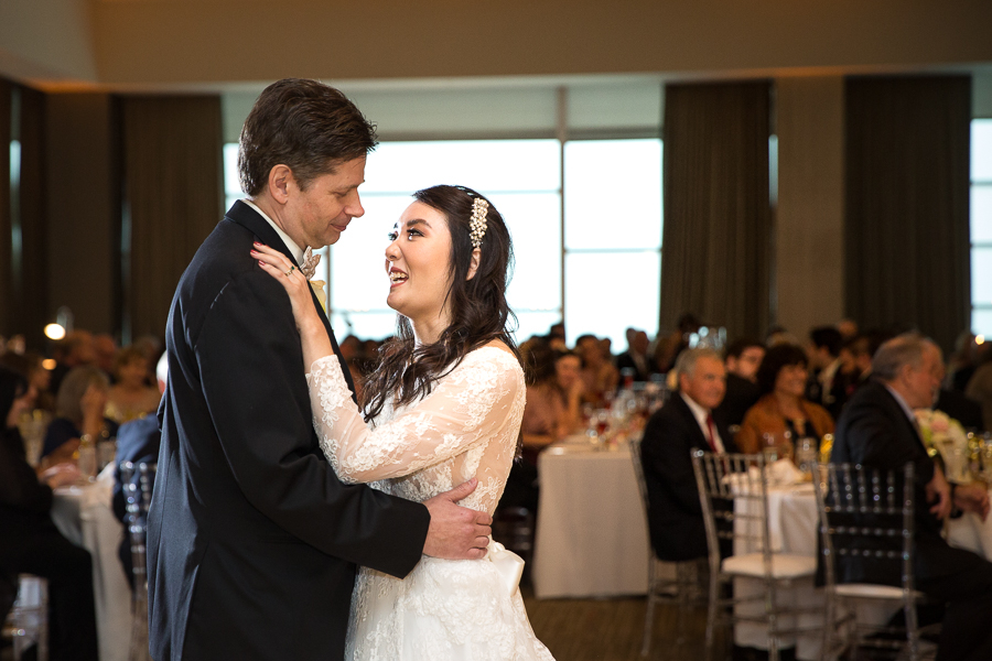 First dance at Fairmont Pittsburgh Wedding