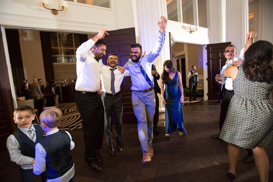 Bride and Groom Dancing at Kimpton Hotel Monaco Pittsburgh Wedding