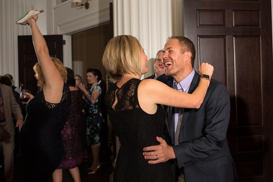 Guests Having Fun at Reception