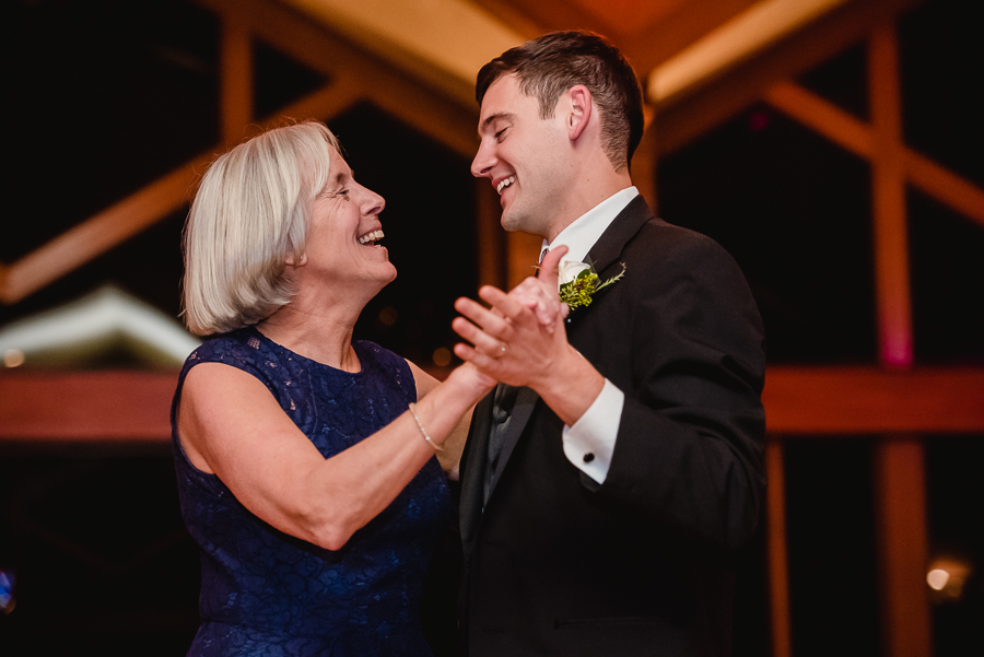 Mother Son Dance at Edgewood Country Club Wedding
