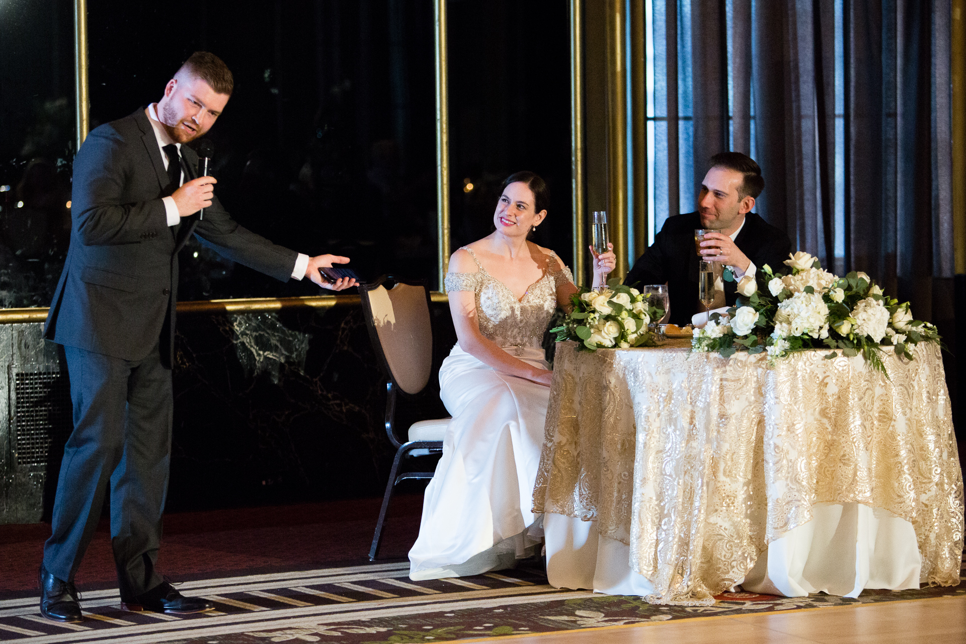 Best Man Speech at Omni William Penn Urban Room