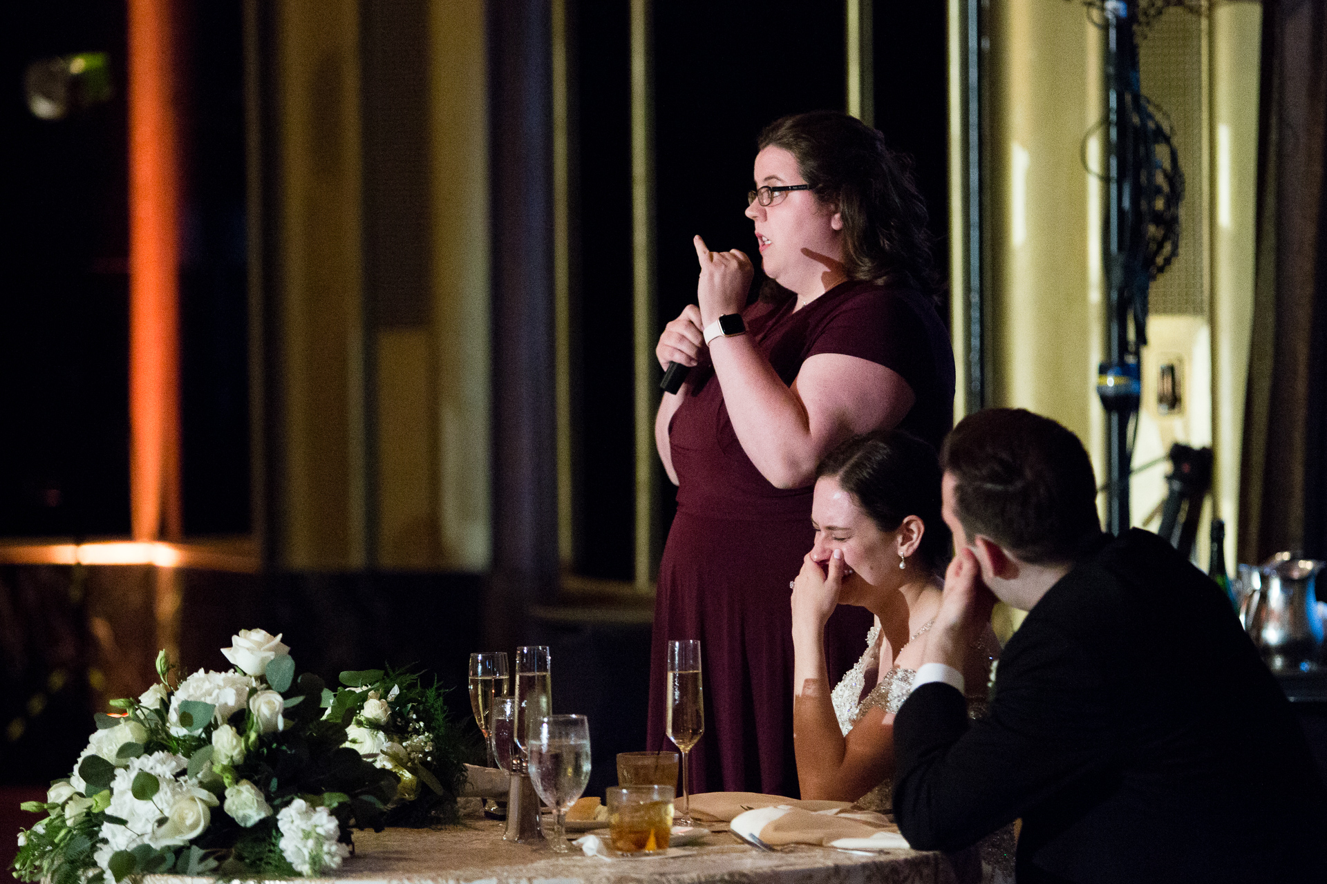 Maid of Honor Speech at Omni William Penn Urban Room