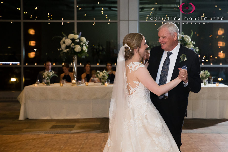 Father Daughter Dance at Heinz History Center Pittsburgh Wedding