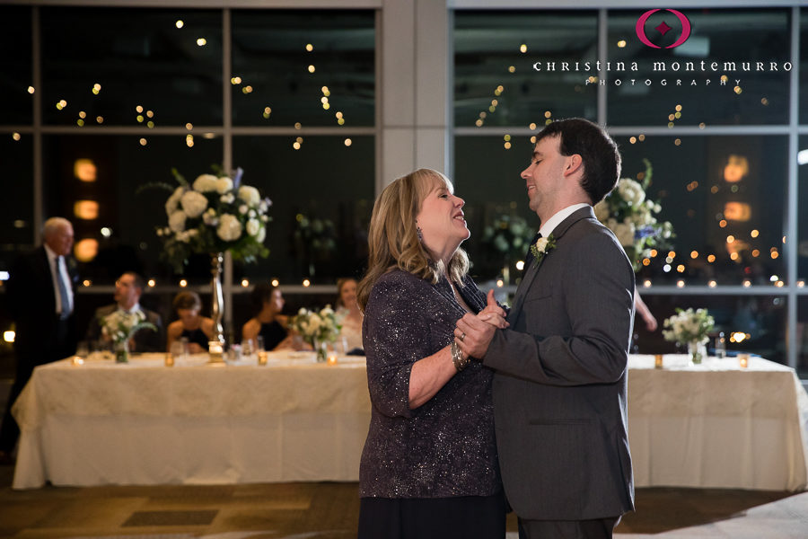 Mother Son Dance at Heinz History Center Pittsburgh Wedding