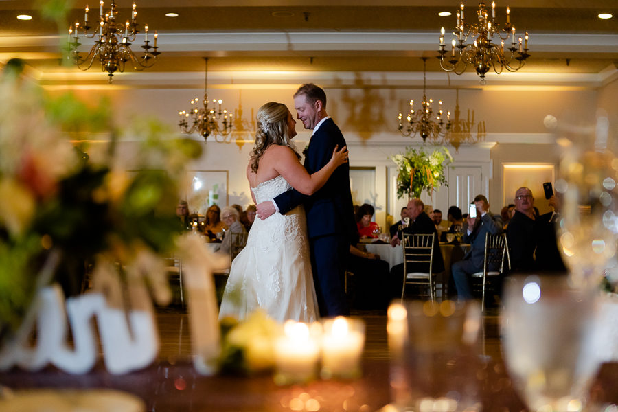 Bride and Groom First Dance Shannopin Country Club