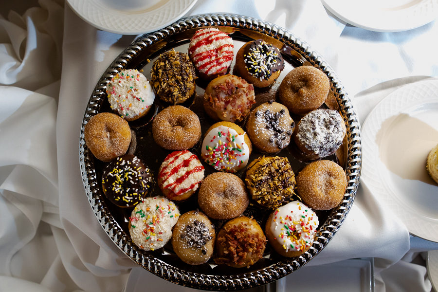 Wedding Doughnuts by Peace Love and Little Donuts