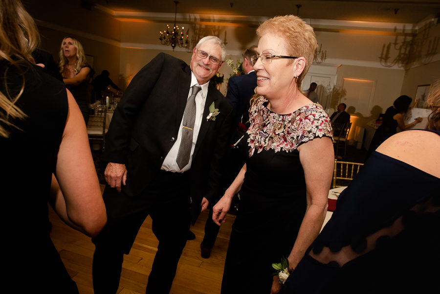 Parents of the Groom Dancing at Shannopin Country Club